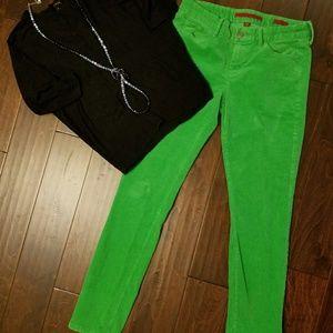 Banana Republic Green Corderoy pants.